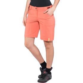 Ziener Colodri X-Function Bas de cyclisme Femme, red cheek